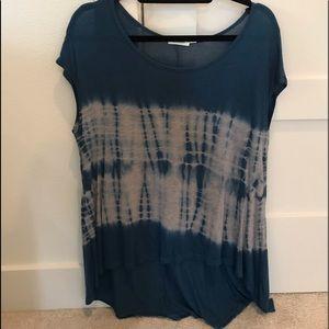 Blu Pepper Tie dye shirt